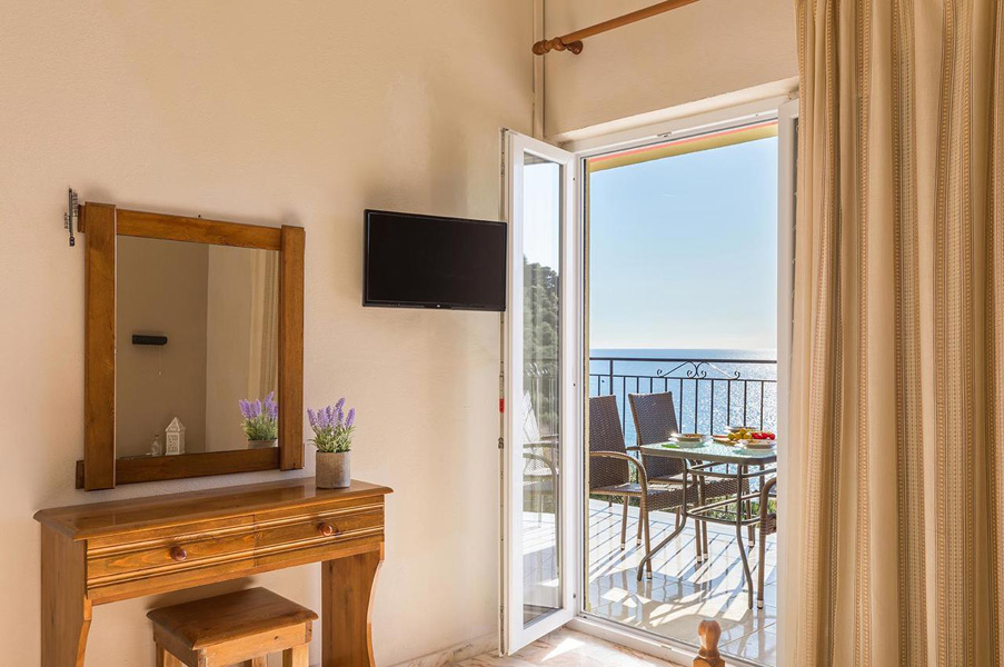 Apartments (4-5 persons) - sea view